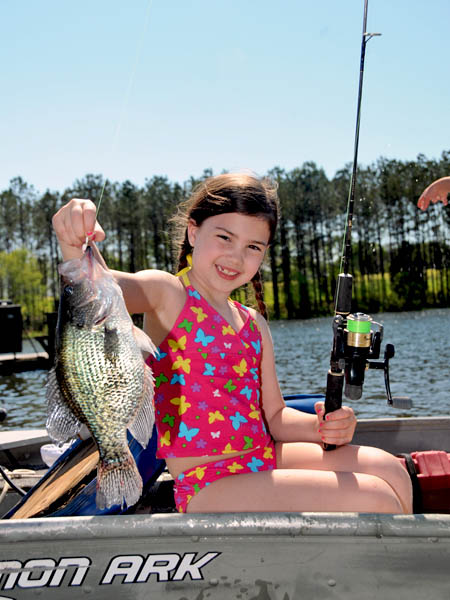 Catching crappie at reelfoot lake the real deal for How to fish for crappie from the bank